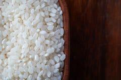 Surowi uncooked suszi ryż zdjęcie stock
