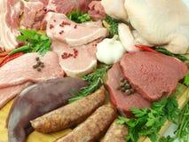 surowy świeży mięso Zdjęcie Royalty Free