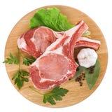 surowy świeży mięso Zdjęcia Royalty Free