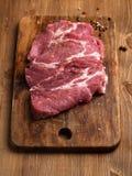 surowy świeży mięso Obrazy Royalty Free