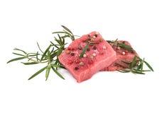 surowy świeży wołowiny mięso Zdjęcie Royalty Free