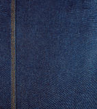 Surowy błękitny drelich Zdjęcia Royalty Free