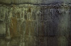 Surowy betonowej ściany tło Obraz Royalty Free