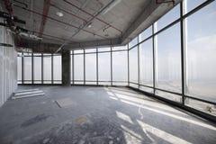 Surowy betonowy wnętrze przy wierzchołkiem Dubai zdjęcie royalty free