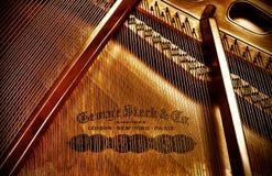 surowy George pianino Zdjęcia Stock