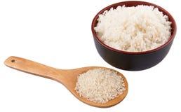 Surowy I Gotujący Rice IV obraz stock