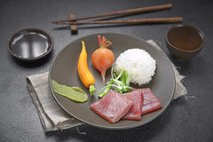 Surowy jedzenie i warzywa Zdjęcia Stock