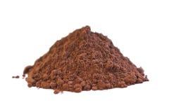 Surowy Kakaowy proszek Zdjęcie Stock