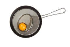 Surowy kurczaka jajko Obrazy Royalty Free