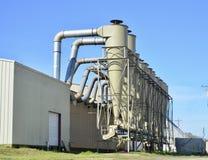 Surowy Materiał rafineria i Przemysłowy zakład przetwórczy obraz stock
