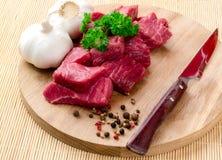 Surowy mięso Obrazy Royalty Free