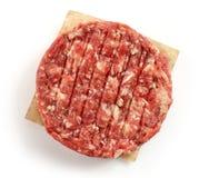 Surowy minced mięso dla robić hamburgerowi fotografia royalty free