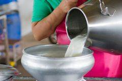 Surowy mleko Obrazy Royalty Free