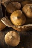 Surowy Organicznie Brown Jicama Fotografia Royalty Free