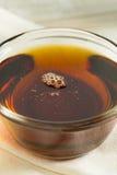 Surowy Organicznie Ciemny agawa syrop Fotografia Stock
