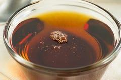 Surowy Organicznie Ciemny agawa syrop Obrazy Royalty Free
