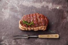 Surowy pieczonej wołowiny kuper Obraz Stock