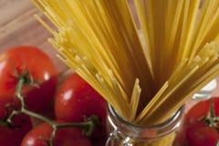 surowy spaghetti Obraz Royalty Free