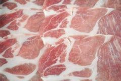 surowy tła mięso jaskrawy świeży Fotografia Stock