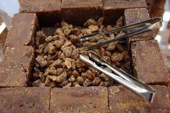 Surowy trzcina cukier Fotografia Royalty Free