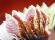SUROWY tuńczyka suszi Fotografia Royalty Free
