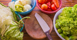 surowy warzywo Zdjęcia Royalty Free