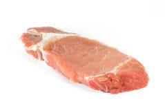 surowy wieprzowina stek Obraz Stock