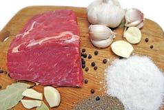 surowy wołowiny mięso fotografia royalty free