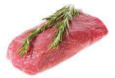 surowy ziele zielony mięso Fotografia Royalty Free