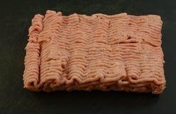 Surowy zmielony indyczy mięso Zdjęcia Stock