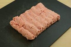 Surowy zmielony indyczy mięso Zdjęcie Royalty Free