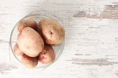 surowych ziemniaków zdrowe jedzenie świeże zbiorów zdjęcia stock