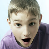 Surpised boy Royalty Free Stock Photo