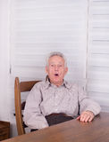 Surpised old man Royalty Free Stock Images