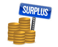 Surplus money Stock Photos