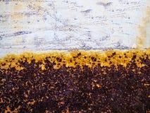 Surpreendendo, textura oxidada colorida Fotografia de Stock Royalty Free