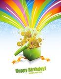 Surpresa colorida Imagens de Stock