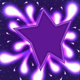Surpresa da estrela brilhante ilustração do vetor