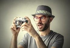Surpresa da foto Fotografia de Stock