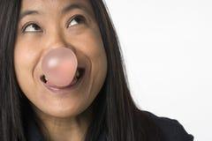 Surpresa da goma de bolha Foto de Stock