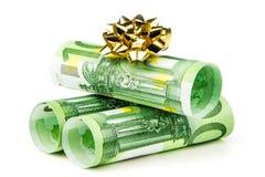 Surpresa do dinheiro Fotos de Stock Royalty Free