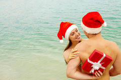 Surpresa do Natal Fotografia de Stock Royalty Free