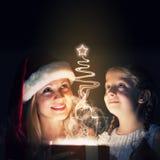 Surpresa do Natal Imagens de Stock Royalty Free