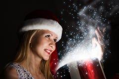 Surpresa do Natal Foto de Stock