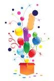 Surpresa festiva Imagem de Stock Royalty Free