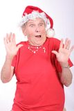 Surpresa no Natal imagens de stock royalty free