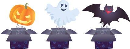 Surpresas de Halloween Fotografia de Stock Royalty Free