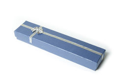 Surprise. The closed gift box with a surprise inside royalty free stock images