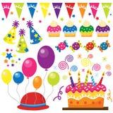 Surprise Birthday Party stock illustration