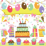 Surprise Birthday vector illustration